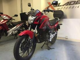 Honda CB 125F GLR Manual Motorcycle, Red, Back Box, V Good Condition