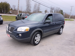 2009 pontiac Montana dvd  certified etested