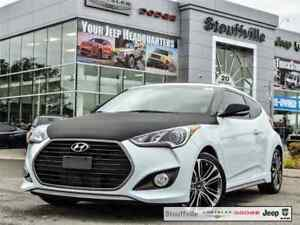 2016 Hyundai Veloster Turbo, Manual With Only 21,300 KMS
