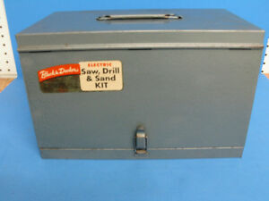 Vintage Black & Decker tool box