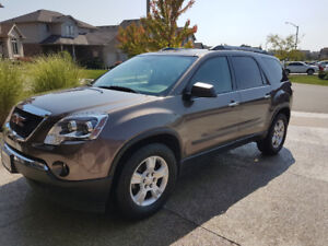 2011 GMC ACADIA - SLE1 AWD - Second Owner, only 58,165km