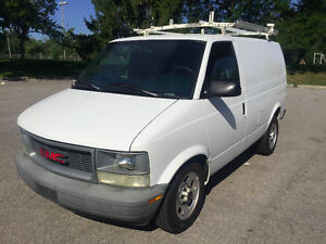 2005 GMC Safari Van W/ Ladder Rack, Shelving Unit & Divider