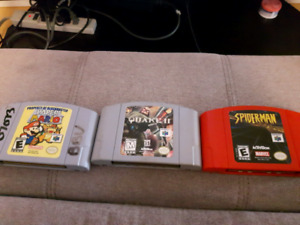 N64 and psp games for sale
