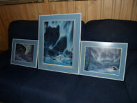 3 Clay Steadman Framed Prints