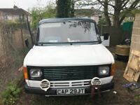 1979 FORD TRANSIT 2.0 PETROL - PINTO ENGINE 4 cylinder - CAM BELT - UNFINISHED PROJECT