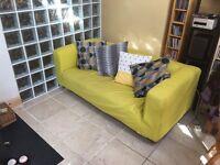 IKEA Klippan sofa and covers