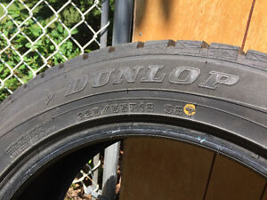 Winter Tires to sell- Size 18 Wintermaxx Dunlop Winter Tires