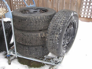 Winter Snow Tires and rims 215 70 16