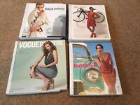 Four Fashion Patterns Magazines