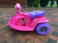 Minnie Mouse electric trike