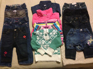 Little girls jeans and sweaters London Ontario image 1