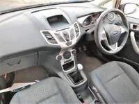 2012 Ford Fiesta 1.6 TDCi ECOnetic DPF Zetec 5dr Diesel black Manual