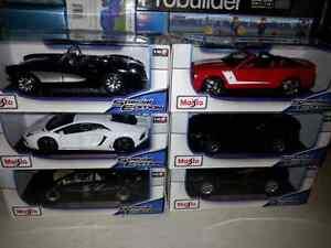 1:18 Diecast Maisto Diecast Lamborghini, Corvette & Viper