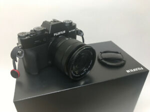 Fujifilm X-T20 and lens