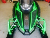 2012 Arctic cat M8 boondocker turbo 162""
