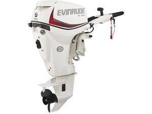 2015 EVINRUDE 25 HP OUTBOARD