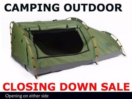 ClosingDownSale: OUTDOOR CAMPING STORE SWAG TENTS AWNINGS KAYAKS