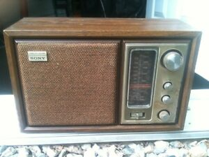 Radio antique Sony 40$