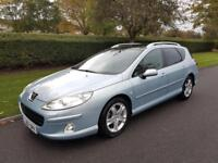 PEUGEOT 407 SW 2.0 HDi (GT) 136 - ESTATE - 5 DOOR - 2007 - SLIVER ** LOW MILES**