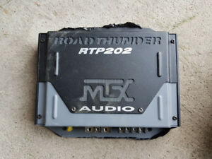 MTX RTP202 - 2 Channel Amp - 150 watts RMS x 1 at 4 ohms