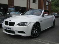 2008 08-Reg BMW M3 DCT Convertible,GEN 86,000 MILES,FULL RED LEATHER LOOK!!!
