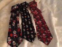 Christmas ties,