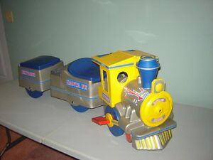 Toddler ride-on train