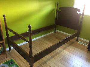 Twin headboard, footboard & side rails