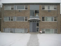 1 br July 1, $850/m, very quite, masonary bldg, 2nd floor front
