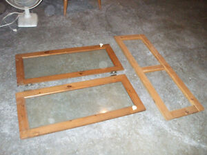 ANTIQUE WINDOW FRAMES AND KITCHEN CABINET DOORS FOR SALE,,