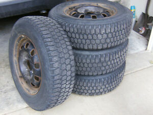 Tires and Wheels -- 195/70R14