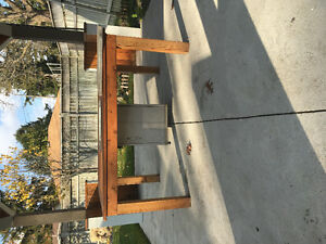 Propane fire pit plus table made for it Windsor Region Ontario image 4