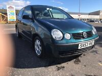Volkswagen polo 1.4 TDI excellent condition service history £30 road tax
