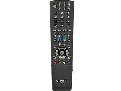 NEW ORIGINAL SHARP LCD REMOTE CONTROL GA586WJSA AQUOS 20SH1E 32DH510 42X20E     Sharp Aquos Lcd 32