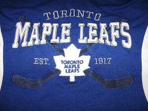 Toronto Maple Leafs Jersey-Small-Used-Quality NHL Licensed