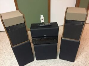 PSB Surround Sound System- Speakers, Receiver & Subwoofer
