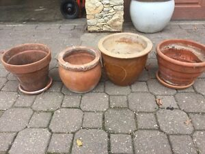 Meduim Sized Clay Pots (15$ For All)