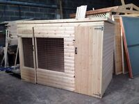 Dog run and kennel for sale 250 pounds