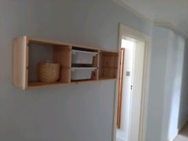Ikea wood shelf