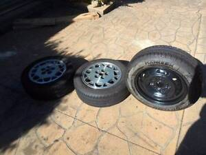 15inch Mag and tyres Ford pattern Lugarno Hurstville Area Preview