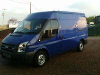 Ford Transit 2.2TDCi MWB SEMI HIGH ROOF EX BRITISH GAS 110PS AIR CON