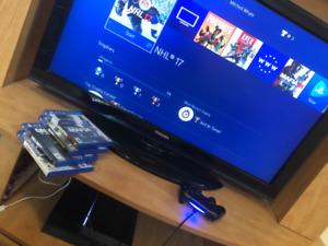 PS4 with remote and games package deal