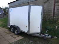 Ifor Williams box trailer