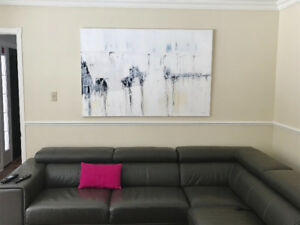 Modern Minimilist Abstract Painting Large