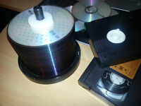 Transfer VHS sur DVD