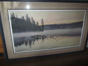 Dave Beckett limited edition painting signed