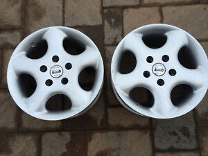 2 NEW MAGS ALESSIO 15'' bp: 5x112; 2 NOUVEAUX MAGS'' 15'' 5x112