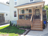 Decks - Porches / All Exterior Renos
