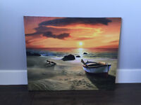 Beautiful Sunset  canvas Picture