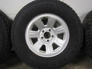 """Ford Ranger 15""""winter tires and rims.Set of 4."""